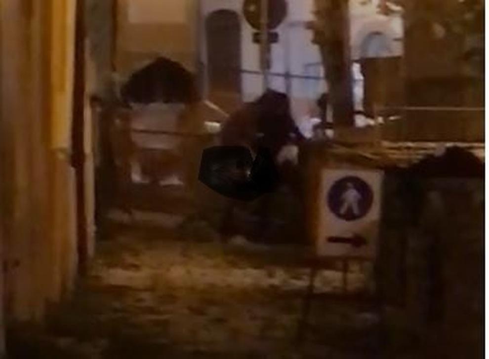 Sesso in strada alla festa dell'uva, il video diventa virale sui social-VIDEO