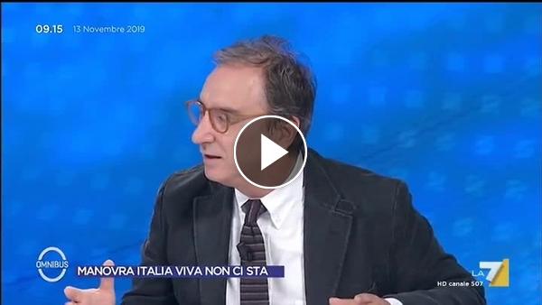 """Acqua alta a Venezia, l'accusa di Antonello Caporale: """"Salvini propone 100 milioni per il Mose? Il Mose è la più grande ruberia d'Italia!""""-VIDEO-La7➥"""