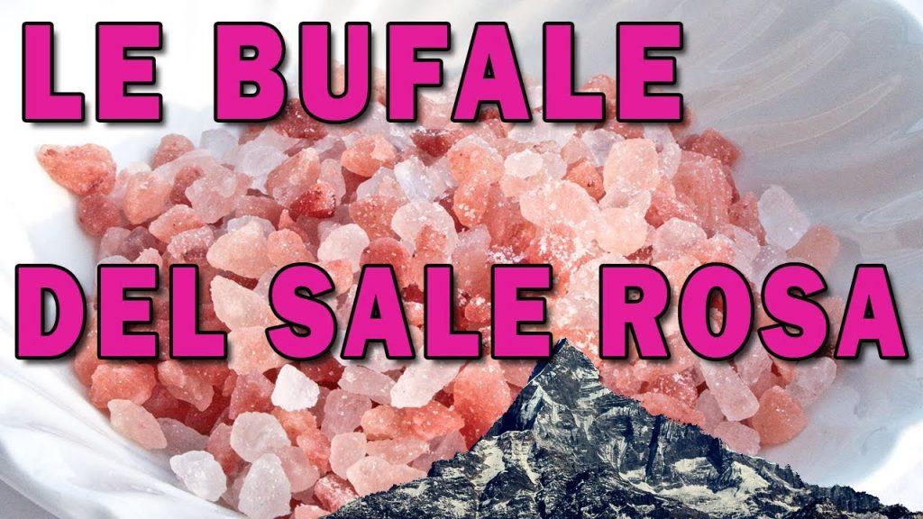 LE BUFALE DEL SALE ROSA DELL'HIMALAYA - è un comune sale, con un po' di ferro e nessuna proprietà - YouTube -video