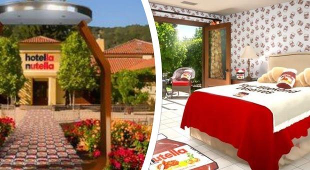 Hotella Nutella, nasce il primo albergo per veri appassionati: ma soggiornare qui non sarà facile ➥