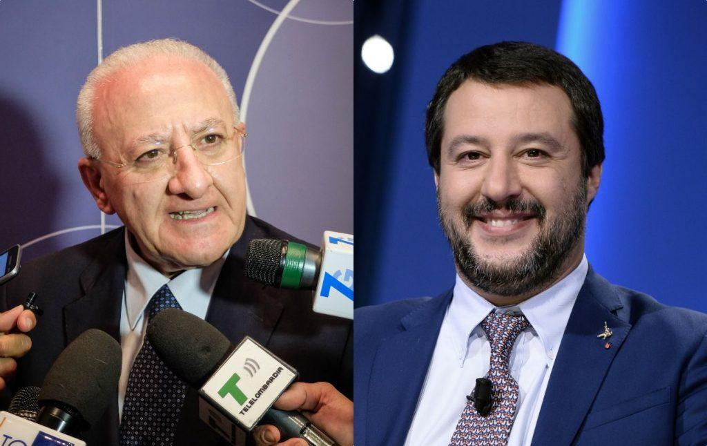Matteo Salvini a Napoli martedì 5 novembre: Adesso mandiamo a casa De Luca-FanPage