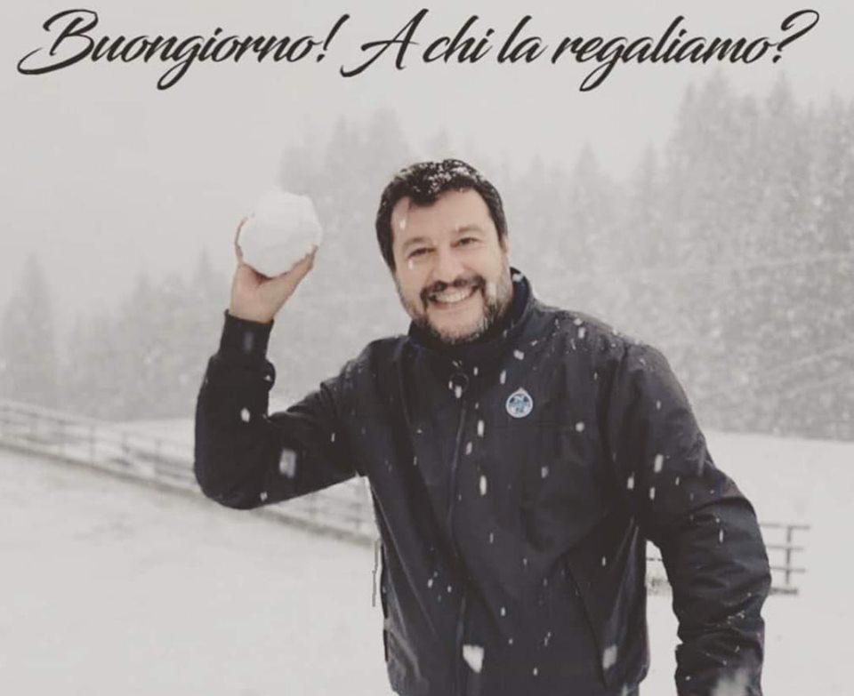 A te chiedo: nell'anno e quattro mesi in cui Salvini è stato al governo dell'Italia, cosa ha fatto per migliorarti la vita?