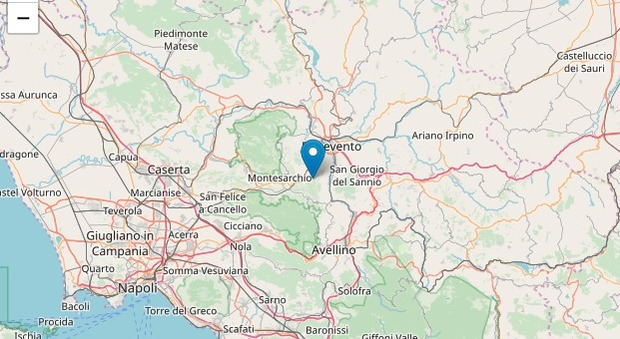 Terremoto, sciame sismico nel Sannio, Benevento: cinque scosse in mattinata, studenti via dalle scuole-LEGGO ➥
