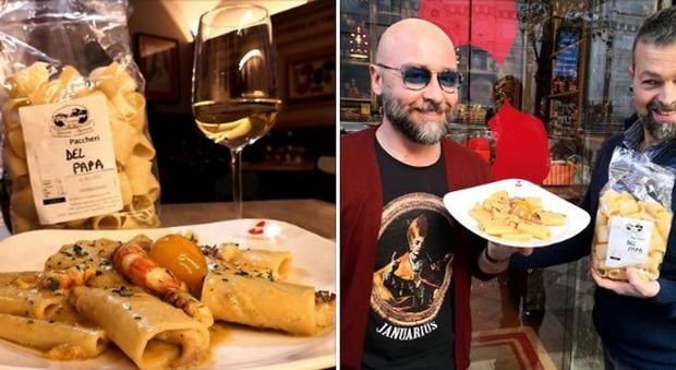 Schiaffo di Papa Francesco, la trovata di un ristorante a Napoli: ecco i «Paccheri del Papa»➥