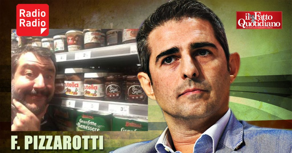 """Pizzarotti: """"Digiuno per Salvini? Gli serve dopo tutta la Nutella e i tortellini che ha mangiato""""-ILFATTOQUOTIDIANO➥"""