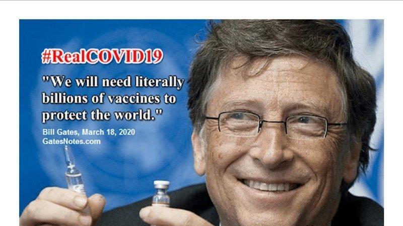 Covid19: ID220 è il progetto criminale di Bill Gates per costringere la popolazione mondiale al microcip➟