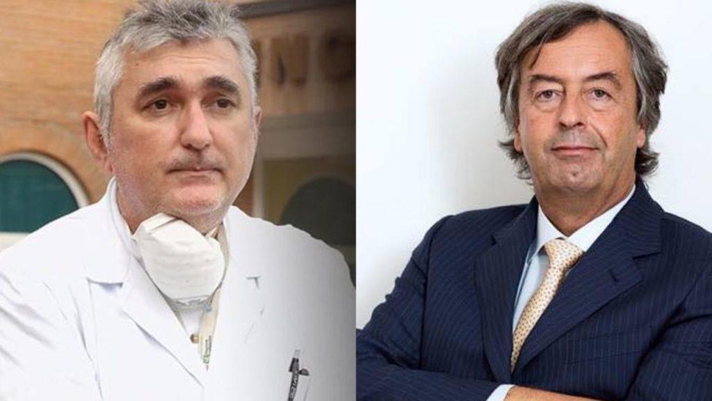 Coronavirus, il 'plasma iperimmune' e lo scontro tra Burioni e il primario di Mantova-LEIENE➟