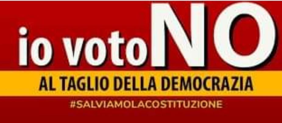 Un motivo in più per votare no al referendum del 20 e 21 settembre, le monzogne dei sostenitori del si, non fatevi fregare!➟